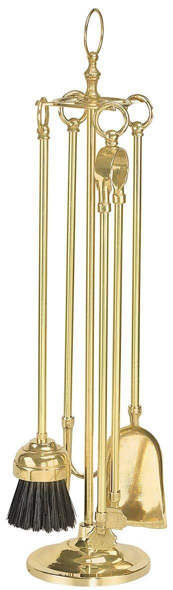 Brass réz kandalló készlet