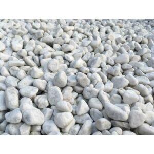 Kandalló dekorációs kő 1kg fehér (8-16mm)