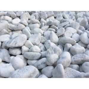 Kandalló dekorációs kő 1kg fehér (20-40mm)