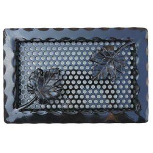 Kovácsoltvas kandalló szellőzőrács - 300×200 mm - fekete