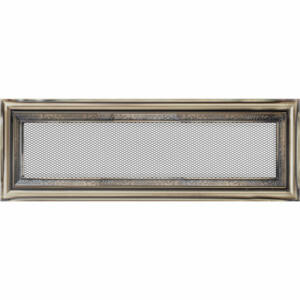 Rusztikus kandalló szellőzőrács 11x32 cm