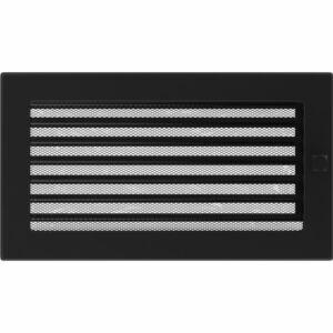 Zsalus kandalló szellőzőrács 17x30 cm