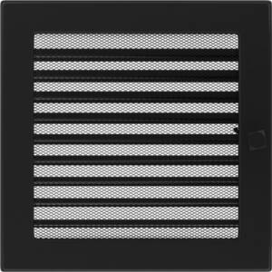 Zsalus kandalló szellőzőrács 22x22 cm