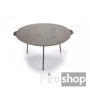 Öntöttvas grill tárcsa, borona tárcsa, sütőlap 60cm