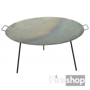 Vas grill tárcsa - borona tárcsa - sütőlap 60cm