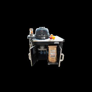 Broil King KEG 2000 faszenes grillsütő és füstőlő+öntöttvas sütőlap+CABINET