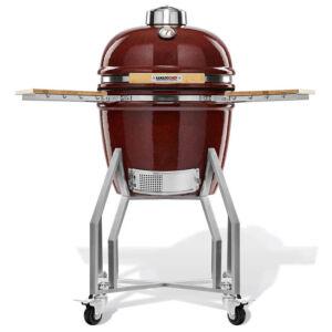 Kamado Chef 1600 Prestige Red Smooth kerámia grillsütő