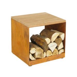 OFYR tűzifa tároló zsámoly (wood storage hocker)
