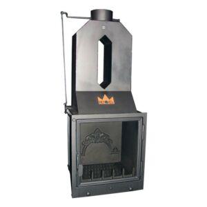 Bodok-D02 légfűtéses kandallóbetét hődobbal