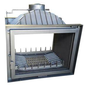 Pilis-M-2A dupla ajtós, légfűtéses kandallóbetét
