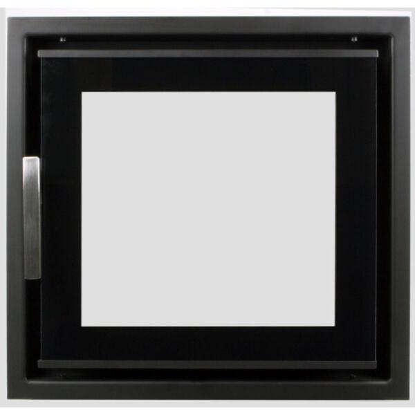 Minimal I. K4038DÜ dupla üveges modern kályhaajtó