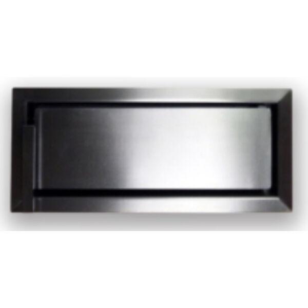 Minimal K4921-IN inox modern hamuzó kályhaajtó