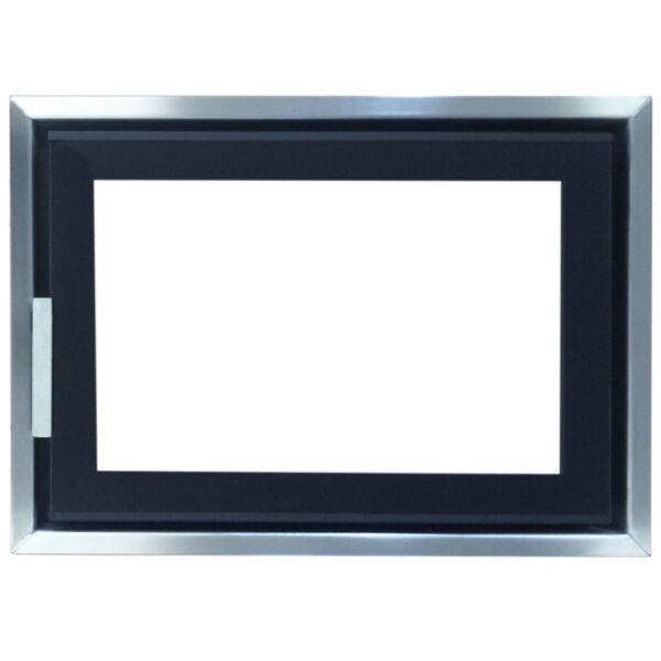 Minimal II. K6040DÜ dupla üveges modern kályhaajtó