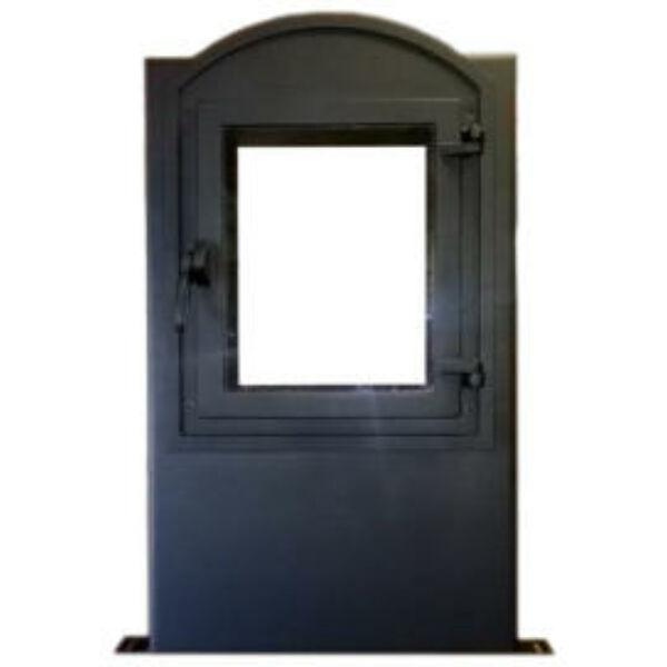 Íves nagy ablakos KMK3546 külső légbevezetéses ajtó