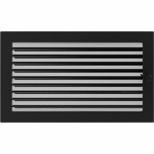 Zsalus kandalló szellőzőrács 22x37 cm