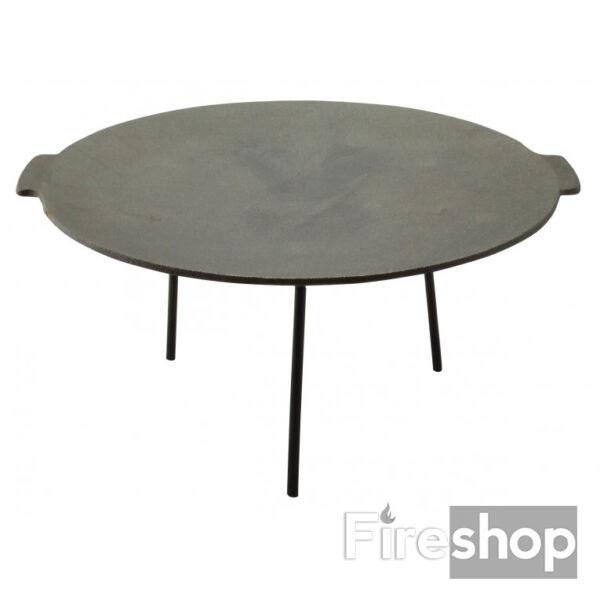 Öntöttvas grill tárcsa, borona tárcsa, sütőlap 45cm