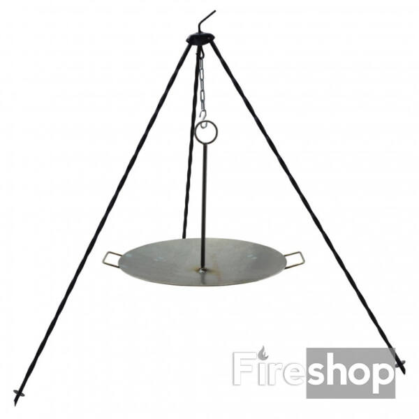 Függeszthető vas grill tárcsa - borona tárcsa - 40cm