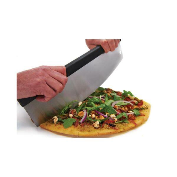 Broil King félhold alakú pizzavágó