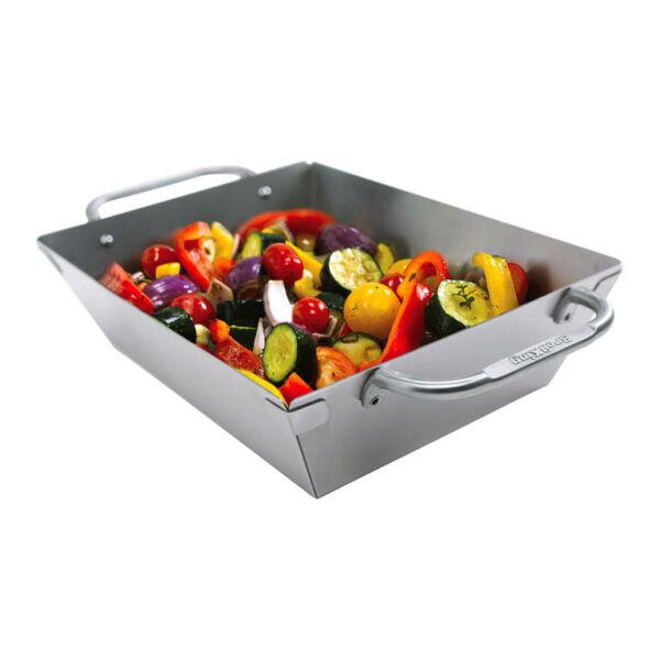 Broil King mély rozsdamentes grill wok
