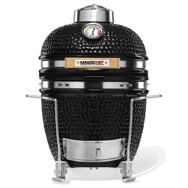 Kamado Chef 1100 Prestige Diamond Black kerámia grillsütő