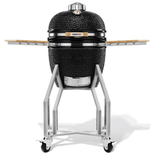 Kamado Chef 1400 Prestige Diamond Black kerámia grillsütő