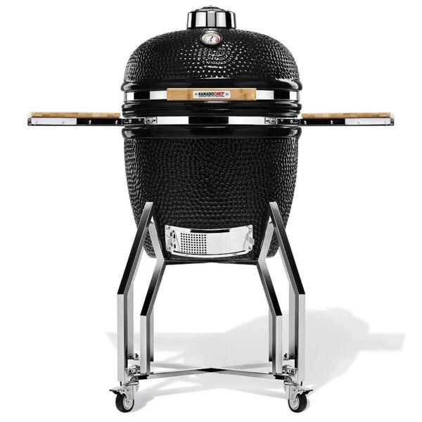 "Kamado Chef 19"" kerámia grill (fekete)"