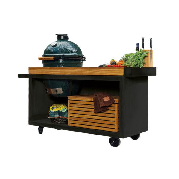 OFYR Kamado Table PRO Black kerti asztal