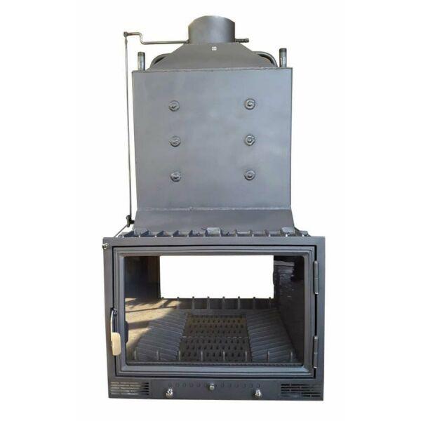 Pilis-2AT-K18 tűzkamrás, vízteres kandallóbetét