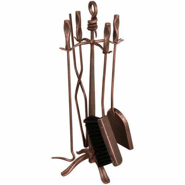 Cerber kovácsoltvas kandalló készlet